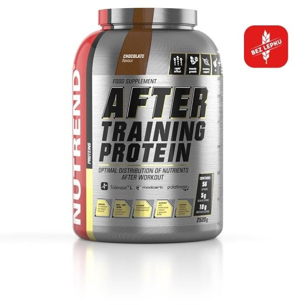 Training After protein chocolate Nutrend