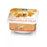 Greek yogurt and honey, apricot 4% fat Milko
