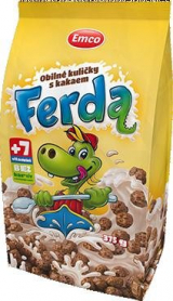 Ferda cereal balls with cocoa Emco