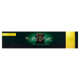 Dark chocolate mint filling lemon flavor After Eight