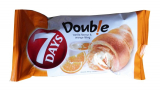 7 DAYS DOUB! E CROISSANT Vanilla Flavor And Orange filling