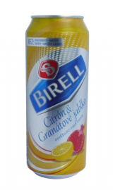 Birell Lemon and Pomegranate