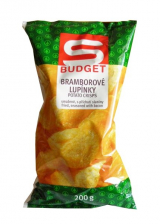 potato chips flavored with bacon Sbudget