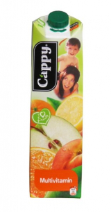 Cappy multivitamin juice