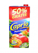 Juice Caprio plus multivitamin without preservatives