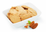 Low calorie biscuits flavored with almonds Victus