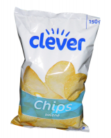 Chips salted Clever