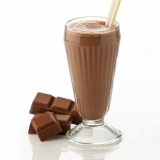 Milk flavored with chocolate smoothie Victus