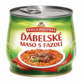 diabolical meat with beans Cheerful pastýřka
