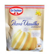Dr. Oetker pudding Premium real vanilla cream ready meal