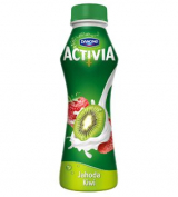 Activia drink strawberry kiwi Danone