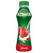 Danone Activia drink strawberry
