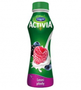 Activia drink berries Danone