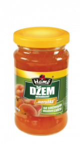 Apricot jam with reduced sugar content Hame