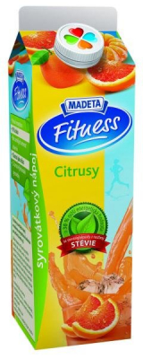 Fitness whey drink citrus Madeta