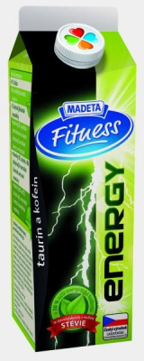 Fitness whey drink energy Madeta