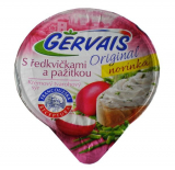 Gervais cream cheese cheese with radish and chives