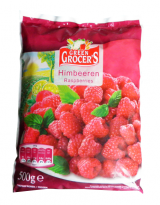 Frozen raspberries Green Grocers