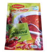 The goulash soup from Mom Maggi