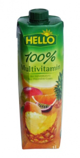 Hello multivitamin juice 100%