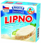 Jihočeské Lipno reduced fat with calcium and fiber Madeta