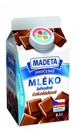 South Bohemian milk delicious chocolate Madeta