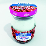Bohemian traditional cherry yoghurt 2.5% Madeta