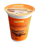 Korrekt creamy yogurt chocolate nougat