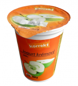 Korrekt creamy yogurt apple