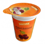 Korrekt cherry yogurt cream