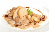 Chicken with mushrooms Victus