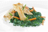 Chicken with spinach and cream Victus
