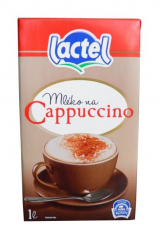 Lactel milk for cappuccino