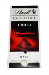 chocolate Lindt Excellence Chili