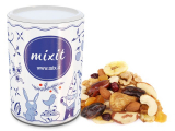 Dried fruits and nuts, chocolate Santa Claus mess MIXIT