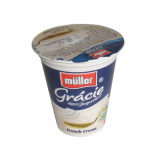 Müller yogurt Gracie French Cream