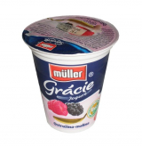Müller yogurt Gracie blackberry raspberry