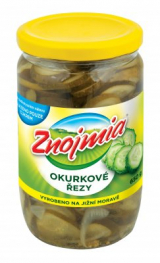 cucumber slices Znojmia