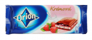 Orion chocolate cream in strawberry yoghurt cream