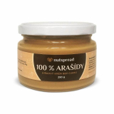100% peanuts hazelnut cream without sugar Nutspread