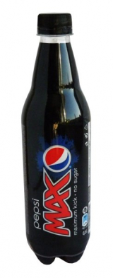 Pepsi Max without sugar