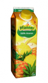 Pineapple juice Pfanner