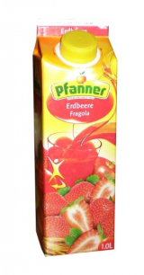 Strawberry juice Pfanner