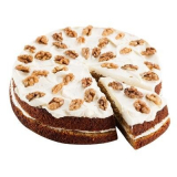 Carrot cake with nuts CrossCafe