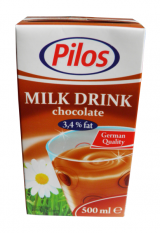 Pilos drink chocolate milk