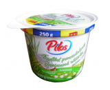 Traditional butter spread with chives Pilos