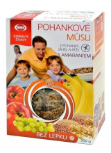 Buckwheat muesli with amaranth buckwheat, millet and rice Semix