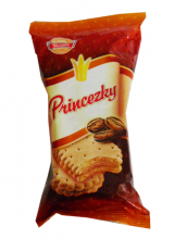 biscuits with coffee filling Princezky sit