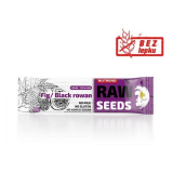Raw seeds Black rowan bar Fig Nutrend