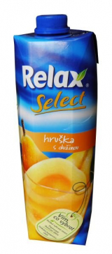 Relax pear juice with pulp
